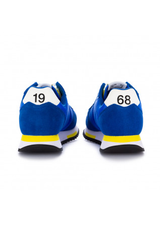 SNEAKERS UOMO SUN68 | Z31118 NIKI SOLID ROYAL BLU / GIALLO