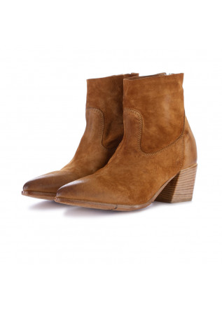 women's ankle boots moma city brown
