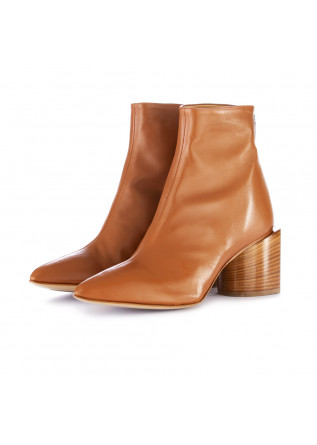 women's ankle boots halmanera cleo brown