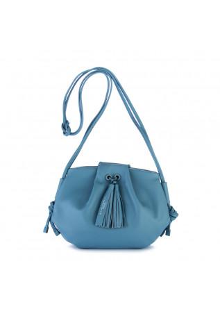 borsa tracolla gianni chiarini blu carta da zucchero