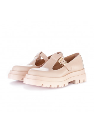women's flat shoes lemare pink