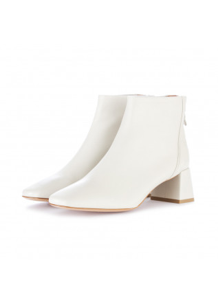 women's ankle boots made 94 ice white
