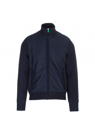men's bomber jacket save the duck blue