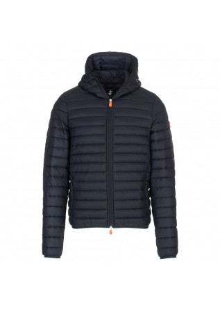 men's puffer jacket save the duck blue