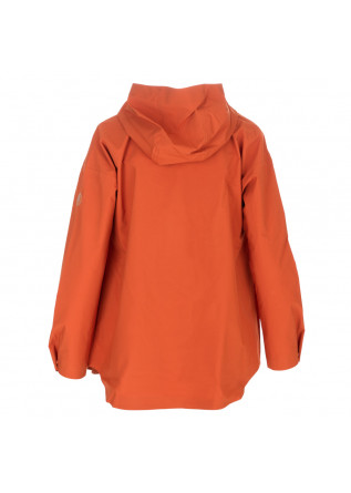WOMEN'S WINDBREAKER JACKET SAVE THE DUCK | DARK12 MILEY ORANGE