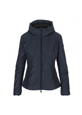 women's jacket save the duck blue