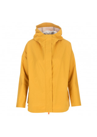 women's jacket save the duck yellow