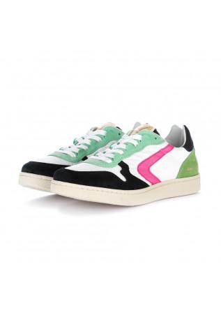 sneakers donna valsport verde bianco nero