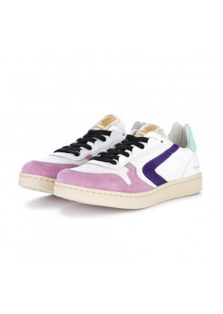 sneakers donna valsport viola bianco