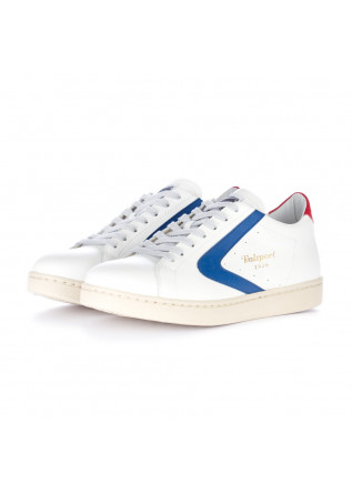 damen sneakers valsport weiss rot blau
