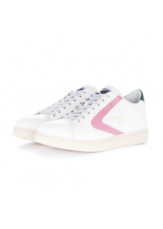 women's sneakers valsport white green pink