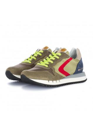 men's sneakers valsport green grey red