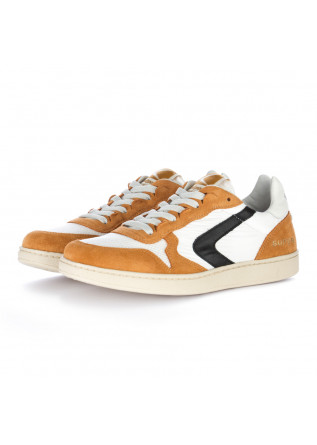 men's sneakers valsport brown white