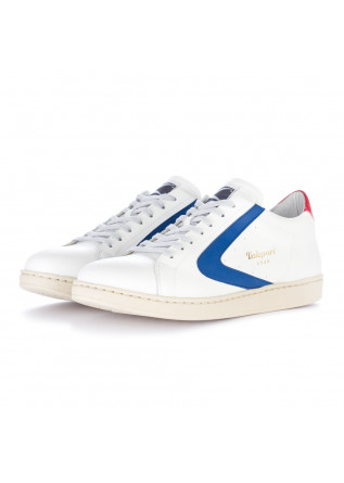 herren sneakers valsport weiss rot blau