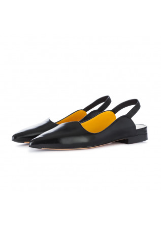 sandali bassi donna mara bini nero