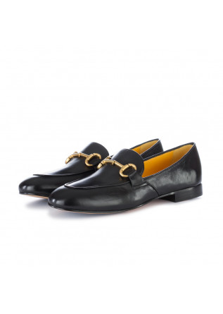women's loafers mara bini black