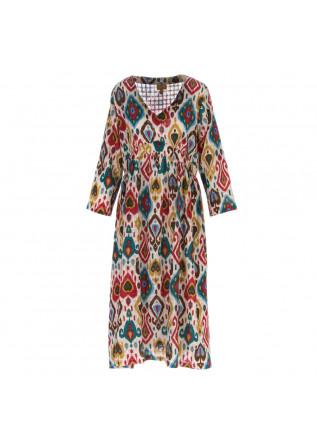 abito donna francesca bassi jaipur multicolor