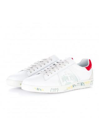 sneakers uomo premiata andy bianco rosso