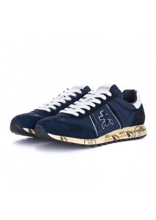 herren sneakers premiata lucy blau