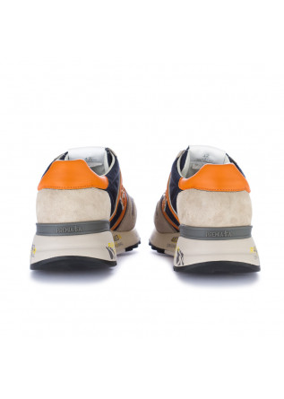 MEN'S SNEAKERS PREMIATA | LANDER GREY BLUE ORANGE