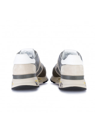 MEN'S SNEAKERS PREMIATA | LANDER GREY GREEN