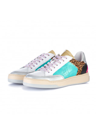 damen sneakers ago mehrfarbig patchwork
