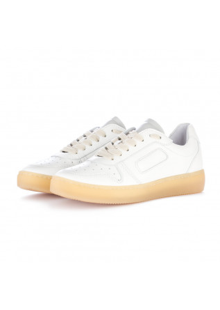 sneakers donna at go bianco crema
