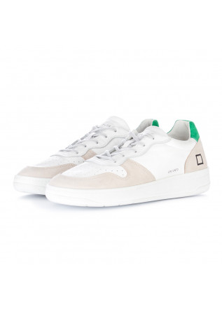 sneakers uomo date court vintage bianco