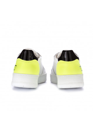 SNEAKERS DONNA D.A.T.E. | COURT FLUO BIANCO