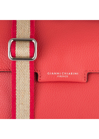 WOMEN'S CROSS-BODY BAG GIANNI CHIARINI | BS 8450 RED