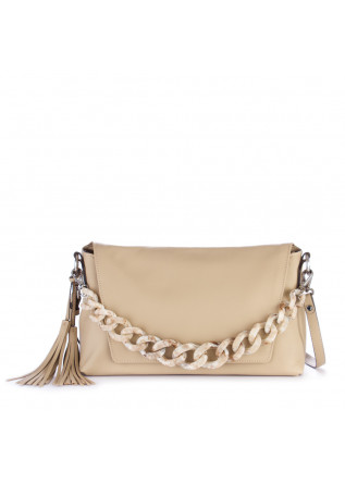 shoulder bag gianni chiarini africa beige