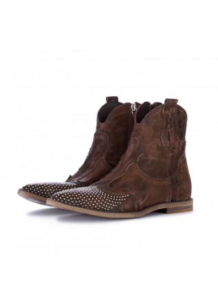 women's cowboy ankle boots just juice brown
