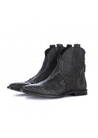 women's cowboy ankle boots just juice black