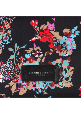 WOMEN'S SHOULDER BAG GIANNI CHIARINI | FLORAL BLACK TOMFLO