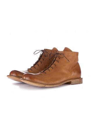 women's ankle boots moma cognac brown