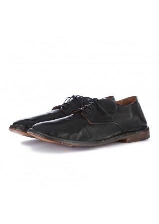 scarpe allacciate uomo moma nero