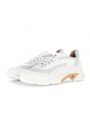 sneakers uomo moma lavato bianco