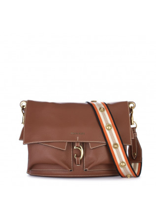 shoulder bag orciani fanty brown