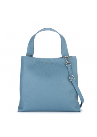 schultertasche orciani jackie soft blau hortense
