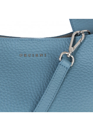 WOMEN'S SHOULDER BAG ORCIANI | JACKIE SOFT BLUE HORTENSE