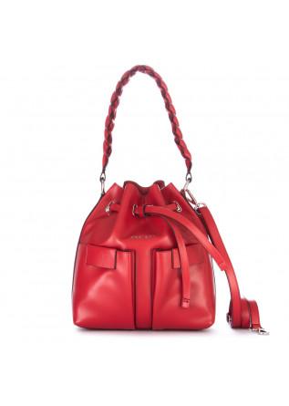 borsa secchiello orciani tessa liberty rosso