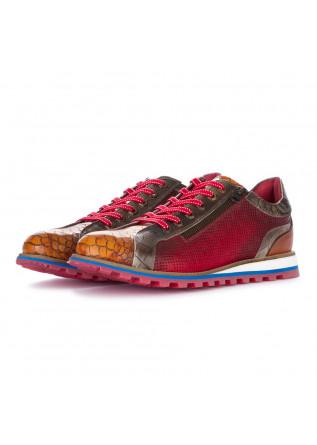 men's lace up shoes lorenzi fresh red