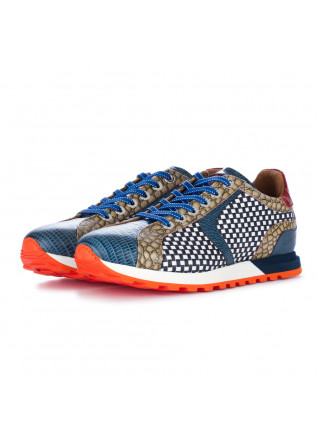 men's sneakers lorenzi jaiss blue