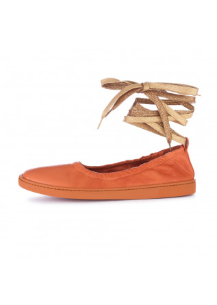 women's ballerinas oa non fashion orange