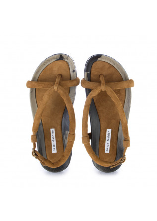 WOMEN'S SANDALS OA NON-FASHION | SUEDE MARMO BROWN