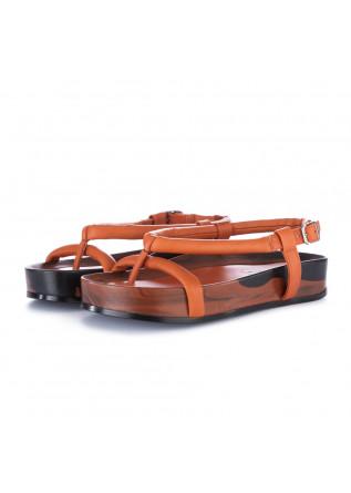 sandali donna oa non fashion marmo arancione