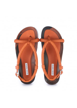 WOMEN'S SANDALS OA NON-FASHION | CALF MARMO ORANGE