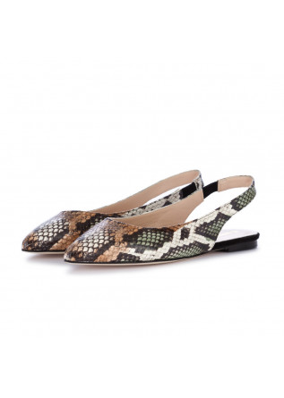 women's sandals il borgo firenze brown reptile