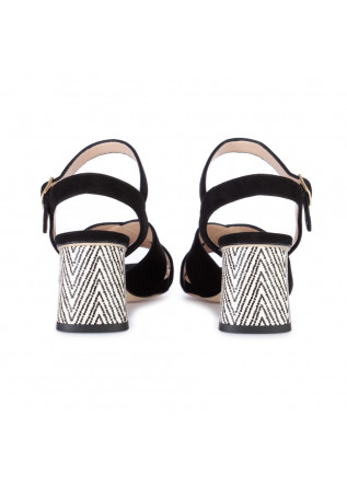 WOMEN'S SANDALS IL BORGO FIRENZE | SUEDE BLACK