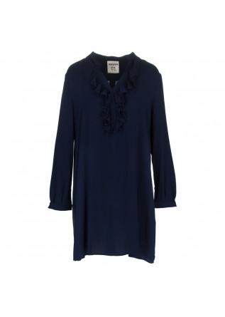abito donna semicouture blu scuro